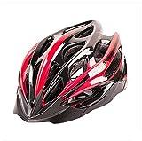 SJZC Helm Fahrradhelm Abus Fahrrad Damen Herren Casco Aktiv MTB Radhelm Uvex Helmet84,red,M