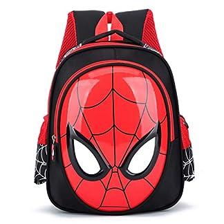 51A5RLq7R2L. SS324  - Mochila Infantil WEN FENG 3D 3-6 Años De Edad De La Escuela Bolsas para Niños Mochilas Impermeables Niño Spiderman Libro Bolso Niños Hombro Bolso Mochila Mochila