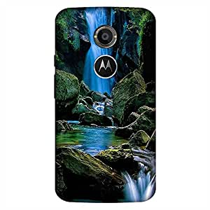 Bhishoom Printed Hard Back Case Cover for Moto X2 - Premium Quality Ultra Slim & Tough Protective Mobile Phone Case & Cover