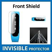 Protector de Pantalla Frontal INVISIBLE para Huawei TalkBand B1 (Talk Band) (Protector Frontal incluido) Protección de Grado Militar Exclusiva de ACE CASE