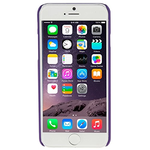 GHC Cases & Covers, Retro Palace prägeartiges Blumenmuster Schutzhülle für iPhone 6 & 6s ( Color : Purple ) Purple