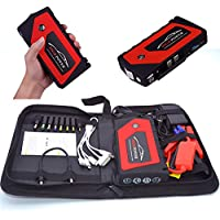 XUEM Car Jump Starter, 18000Mah,600A Peak Current,12Vjump Starter, Emergency (Benzin 6.0, Diesel 3.0) 4 USB Charging... preisvergleich bei billige-tabletten.eu