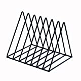 Leisial. Estantería de Revistas Metal para Escritorio para Organizar Documentos/Cuadernos / Libros Carpetas Estante para Almacenaje Oficina Hogar Multifuncional (#8)