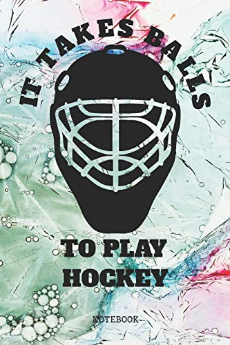 Notebook: My Ice Hockey Game Planner / Organizer / Lined Notebook (6