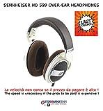 Sennheiser HD 599 Cuffia Aperta, Circumaurale, Avorio