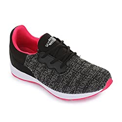 Force 10 (from Liberty) Womens Black Running Shoes - 2.5 UK/India (35 EU)(5936007100350)