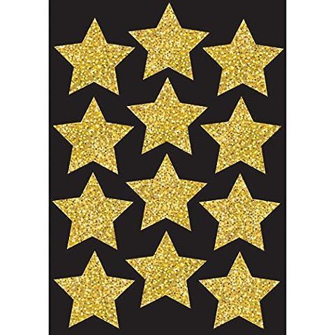 Ashley Produktionen Funkeln Sterne Die-Cut Magnete, Gold, 3. (Cut Accent)