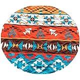 TUDUZ Atrapasueños Gradiente Redondo Toalla De Playa (Naranja)