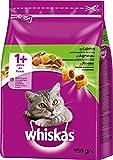 Whiskas 1+ Katzenfutter Lamm, 5er Pack (5 x 950 g)