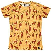Camiseta Running Graciosa Niño, Niña, Manga Corta, Gimnasio #OhMyDeer Talla 10