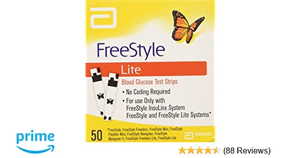 Freestyle lite testing strips amazon health personal care aloadofball Image collections