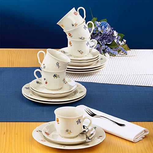 Seltmann Weiden 001.716502 Kaffeeservice 18-teilig Marieluise Blütenmeer