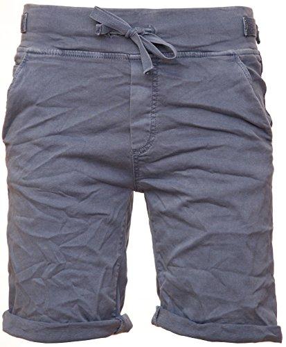 Basic.de Cotton-Stretch Bermuda-Shorts Jeansblau XS