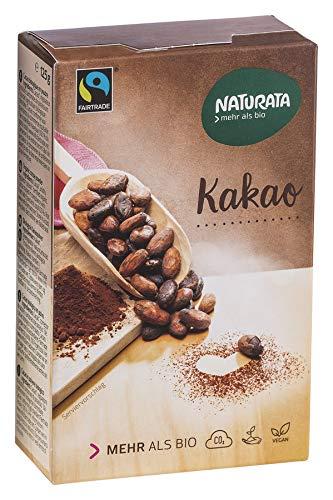 Naturata Bio Kakao, schwach entölt, 20-22% (6 x 125 gr)
