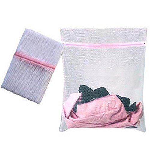 HCFKJ 3 Größen Unterwäsche Hilfe Socken Dessous Wäsche Waschmaschine Mesh Tasche (S) -