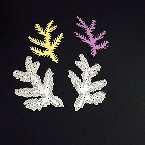Scrapbooking Stanzschablonen, FNKDOR Weihnachten Metall Schablonen Embossing Machine Schneiden Stanzformen, für Sizzix big shot / Cuttlebug / und andere Stanzmaschine (B)