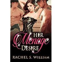ROMANCE: Her Menage Desire: Western Contemporary Ranch Alpha Male Menage Romance (English Edition)