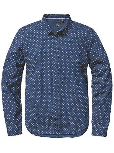 Globe -  Camicia Casual  - Uomo Indigo