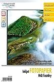 Schwarzwald Mühle Tinte Foto Papiere: HiQ Fastdry Fotopapier glossy 220 g/m² 10x15 50Bl. (Tintenstrahldrucker Papiere)