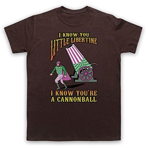 Inspiriert durch Breeders Cannonball Unofficial Herren T-Shirt Braun