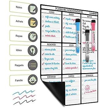 CKB Ltd/® Magnetic REWARD CHART Penguin Manchot Magn/étique R/écompense et t/âches Chart sec pour R/éfrig/érateur 7 jours pour les r/éfrig/érateurs color/és liste de croix Tableau de r/écompenses magn