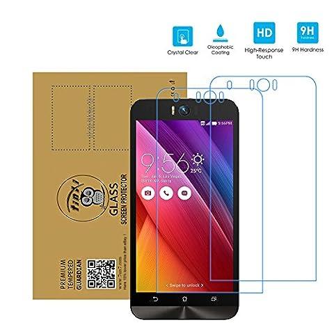 tinxi® 2x Protection écran Asus Zenfone Selfie ZD551KL 5.5 Pouces