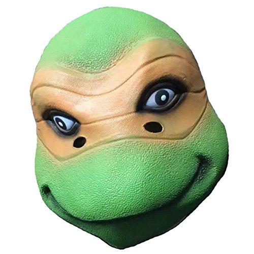 Katze Schildkröte Kostüm - Queenshiny® Latex Tiermaske Halloween-Party-Kostüm (Ninja Schildkröten Mikey)