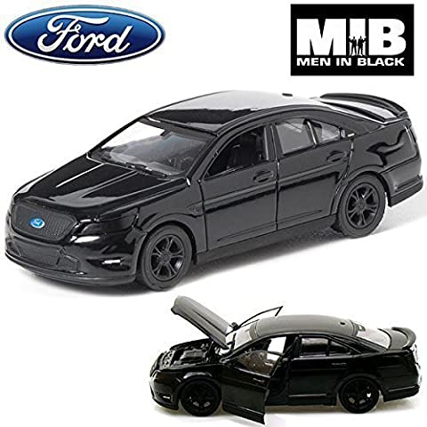 Comtechlogic® CM-2140 Official Licensed 1:24 2012 Ford Taurus SHO DieCast Model Car From Men in Black 3 Film - Limited