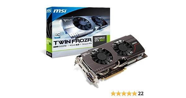 Msi N660ti Tf 3gd5 Oc Geforce Gtx 660 Ti 3 Gb Gddr5 Computer Zubehör