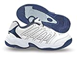 Best Tennis Shoes For Men - Nivia Men's Zeal PU White Tennis Shoes Review