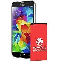 PowerBear® Samsung Galaxy S5 Akku [2800 mAh] Li-Ion Batterie für das Galaxy S5 [I9600, G900F , G900V (Verizon), G900T (T-Mobile), G900A (AT&T), G900P (Sprint)] | S5 Ersatzbatterie [24 Monate Garantie]