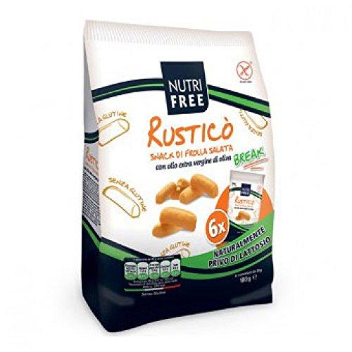 Preisvergleich Produktbild Nutrifree rustikalen Snack Butterkeks Salata 180g Glutenfrei Promo