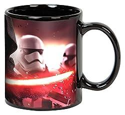 Elbenwald Star Wars XXL Tasse Kylo Ren und Stormtrooper Keramik 600ml