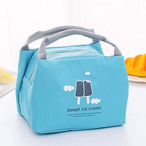Dickes Isolationspaket tragbare kleine Lunchbox-Tasche Outdoor-Isolationspaket, heißer und kalter Beutel |, isolierter Kühler, Lunchpaket @ Gourmet-EIS