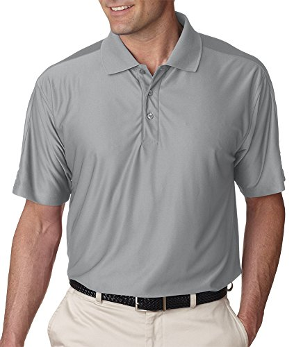 UltraClub Herren Poloshirt Grau