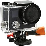 Rollei Actioncam 430 - Leistungsstarker WiFi Camcorder mit 4K, 2K, Full HD Videoauflösung und Slow-Motion, inkl. Unterwasserschutzgehäuse - Schwarz