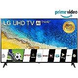 LG 139 cm (55 inches) 4K UHD Smart LED TV 55UM7290PTD (Ceramic BK + Dark Steel Silver) (2019 Model)
