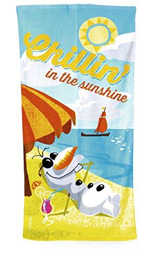 Disney Frozen 140 x 70 cm Olaf Chillin in the Sunshine Beach and Bath Towel