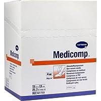 MEDICOMP Kompressen 7,5x7,5 cm steril 50 St Kompressen preisvergleich bei billige-tabletten.eu