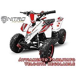 Motorbimbo Nitro Motors MIni Quad 50 Madox 6 Blu