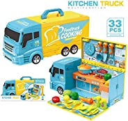Multi-functional kitchen truck & vehicle & car kitchen set with music a