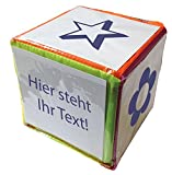 TimeTex Blanko-Würfel mit Einstecktaschen 15cm