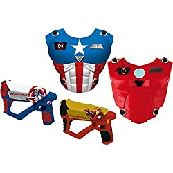 Avengers - Set Megaláser corazas y Pistolas (IMC Toys 665041)