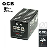 Ocb Ultraslim 5,7mm - Box 20 Scatoline da 120 Filtri