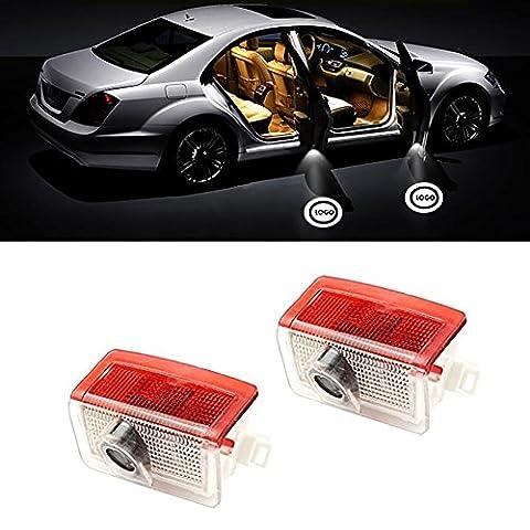 Einstiegsbeleuchtung Door Shadow Licht Laser Projektor Logo für Benz A