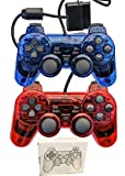 Gollec Wired Controller for PS2 Playstation 2 Dual...