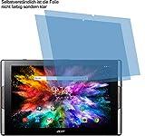 4ProTec 2X Crystal Clear klar Schutzfolie für Acer Iconia Tab 10 A3-A50 Displayschutzfolie Bildschirmschutzfolie Schutzhülle Displayschutz Displayfolie Folie