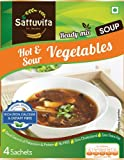 #3: Sattuvita Hot and Sour Soup, Vegetable, 20g (4 Sachets)
