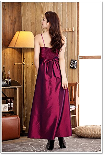 VIP Dress Robe de soirée en satin Framboise