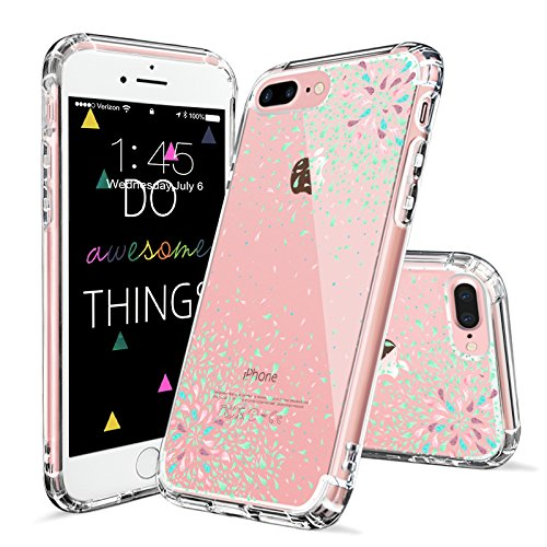 Mix Design Case for iPhone 7 Plus iPhone 8 Plus Mint Confetti
